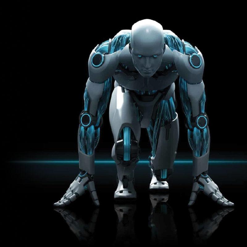 Image background robot